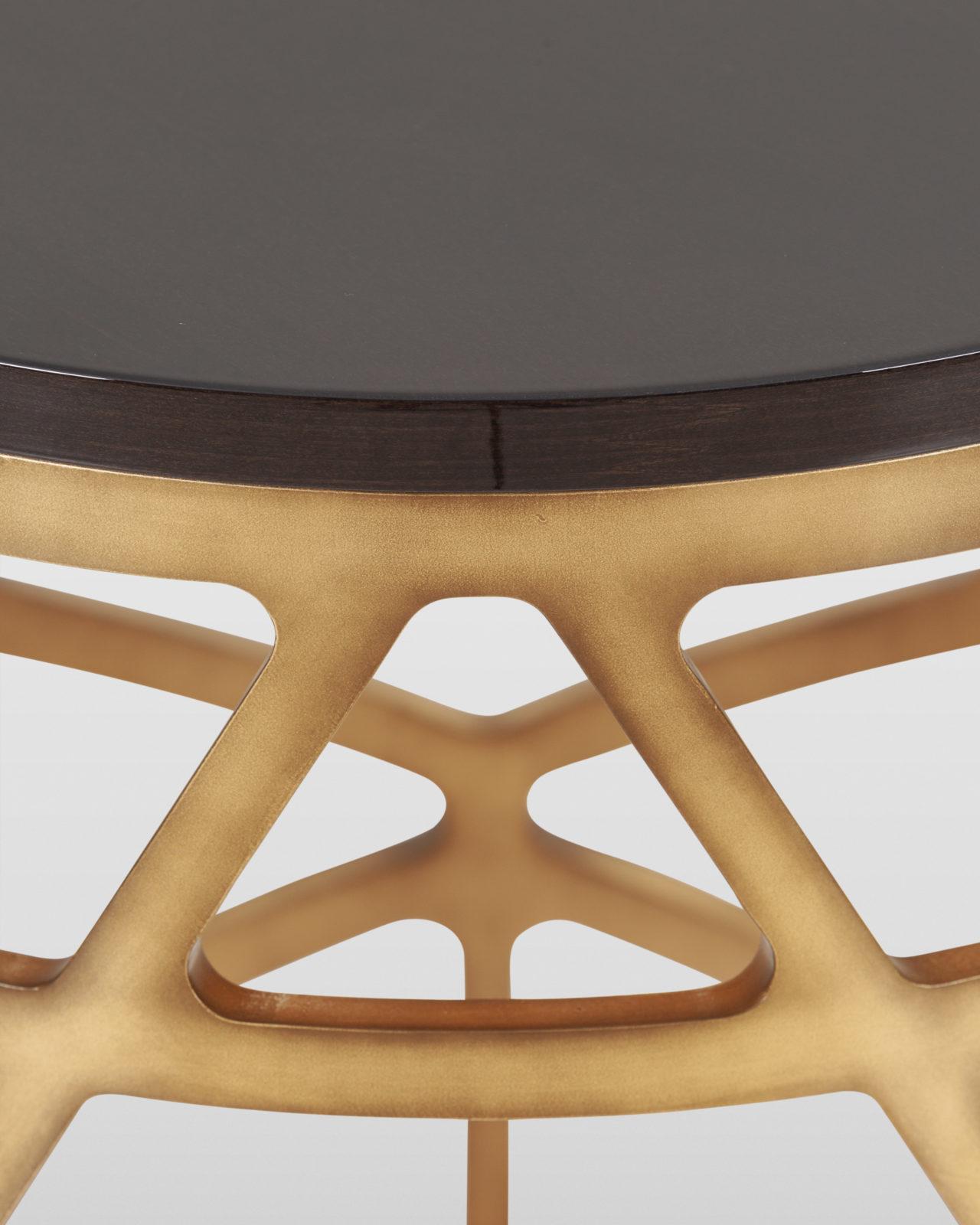 Greenapple Pyrite Side Table